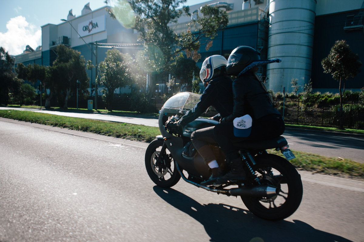 Triumph Cafe Racer >> Brad's Moto Guzzi v7 Cafe Racer | Throttle Roll