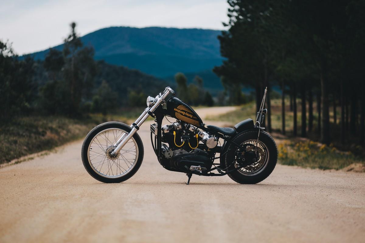 Brad S 1975 Harley Davidson Xlh1000 Sportster Throttle Roll