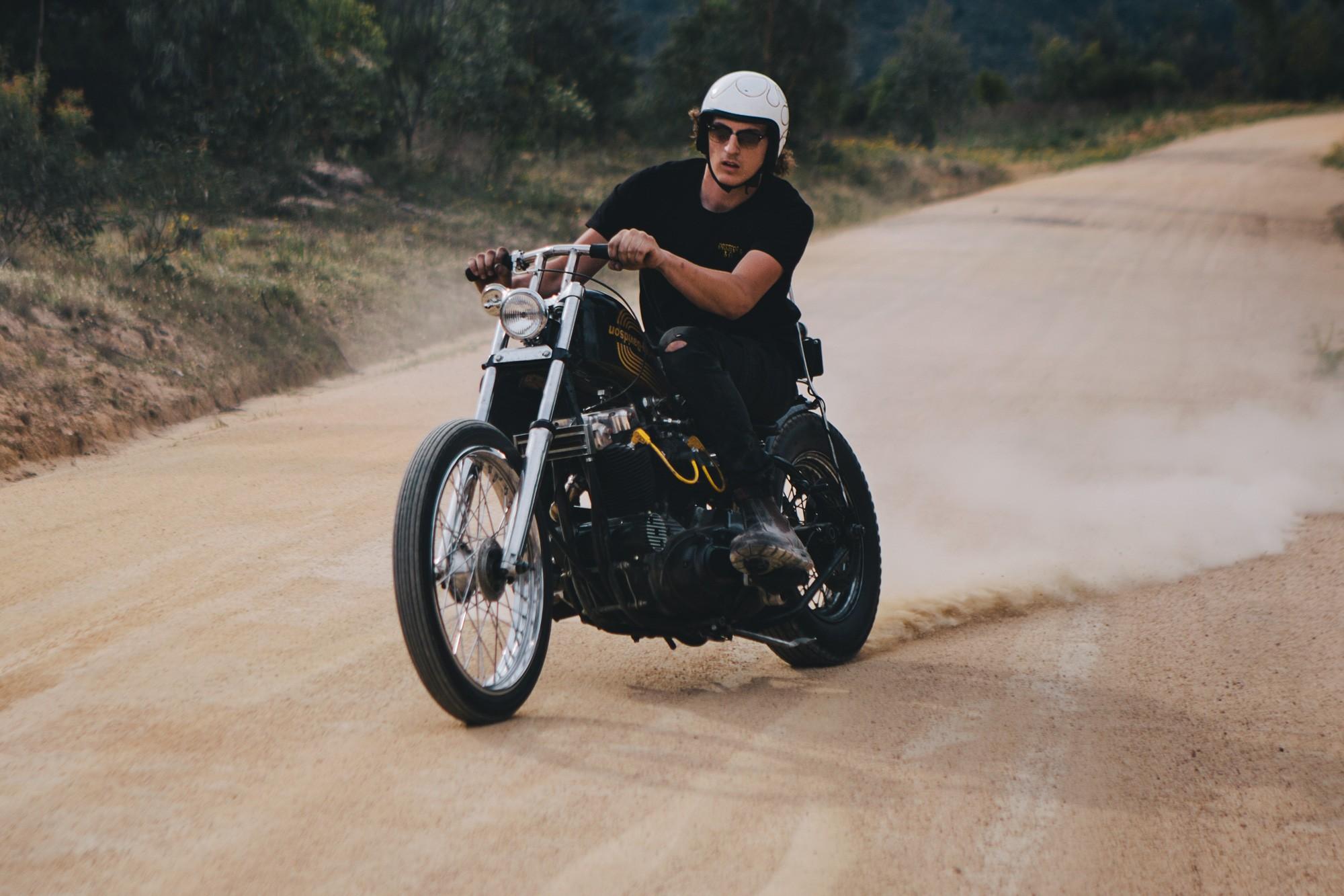Harley Davidson Xlh  Start