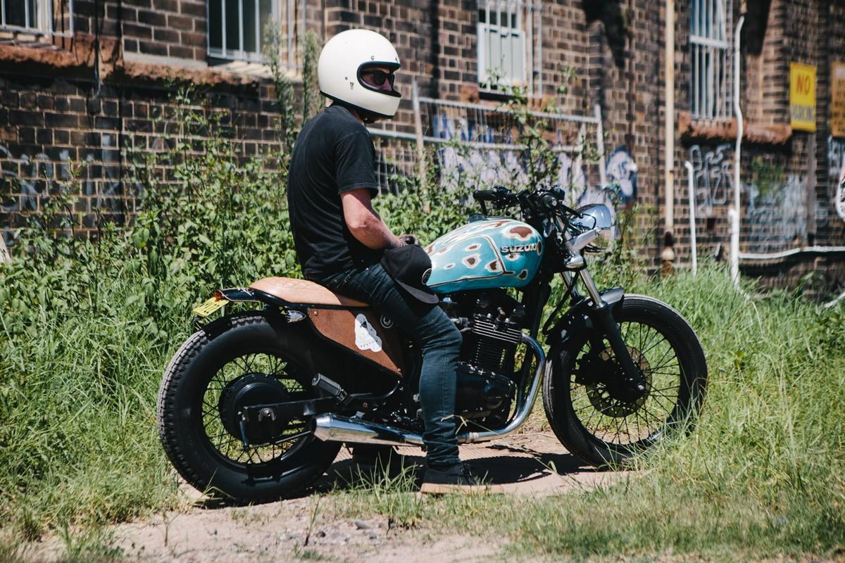 Kel's Suzuki GR650 Tempter   Throttle Roll