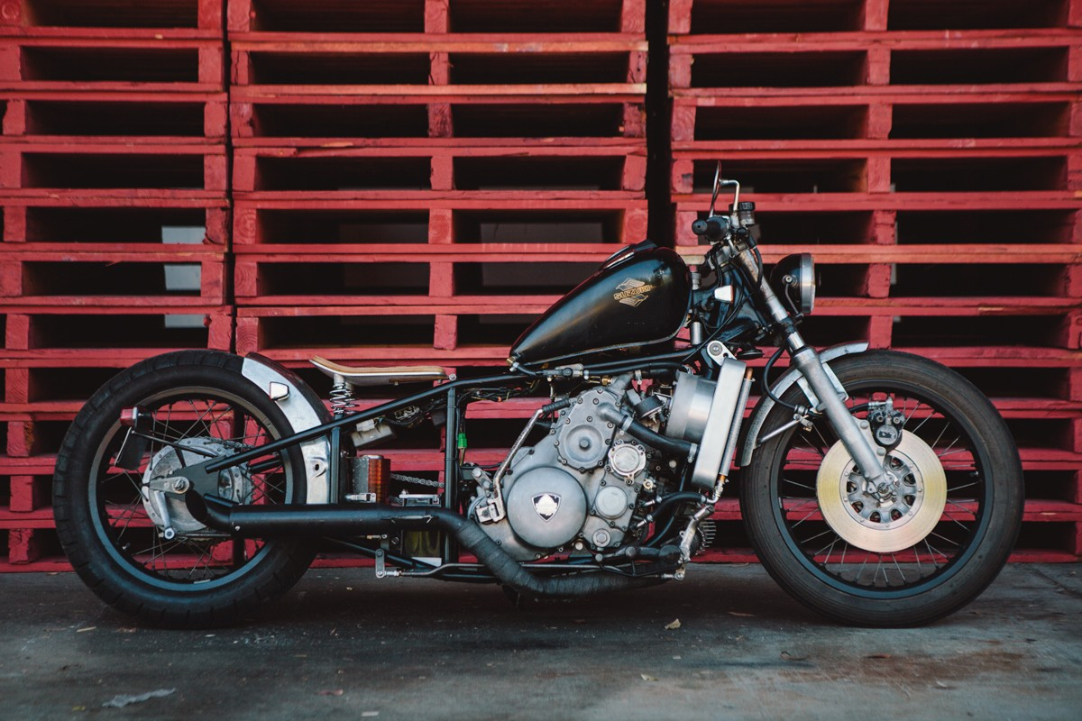 Ross' Suzuki RE5 M Rotary Bobber | Throttle Roll