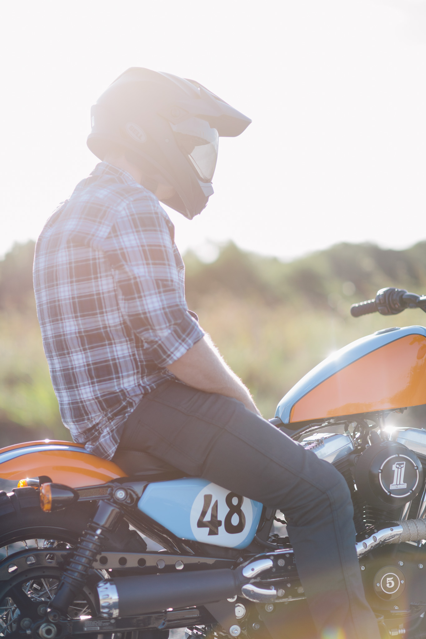 Troy S Tracker Forty Eight Throttle Roll