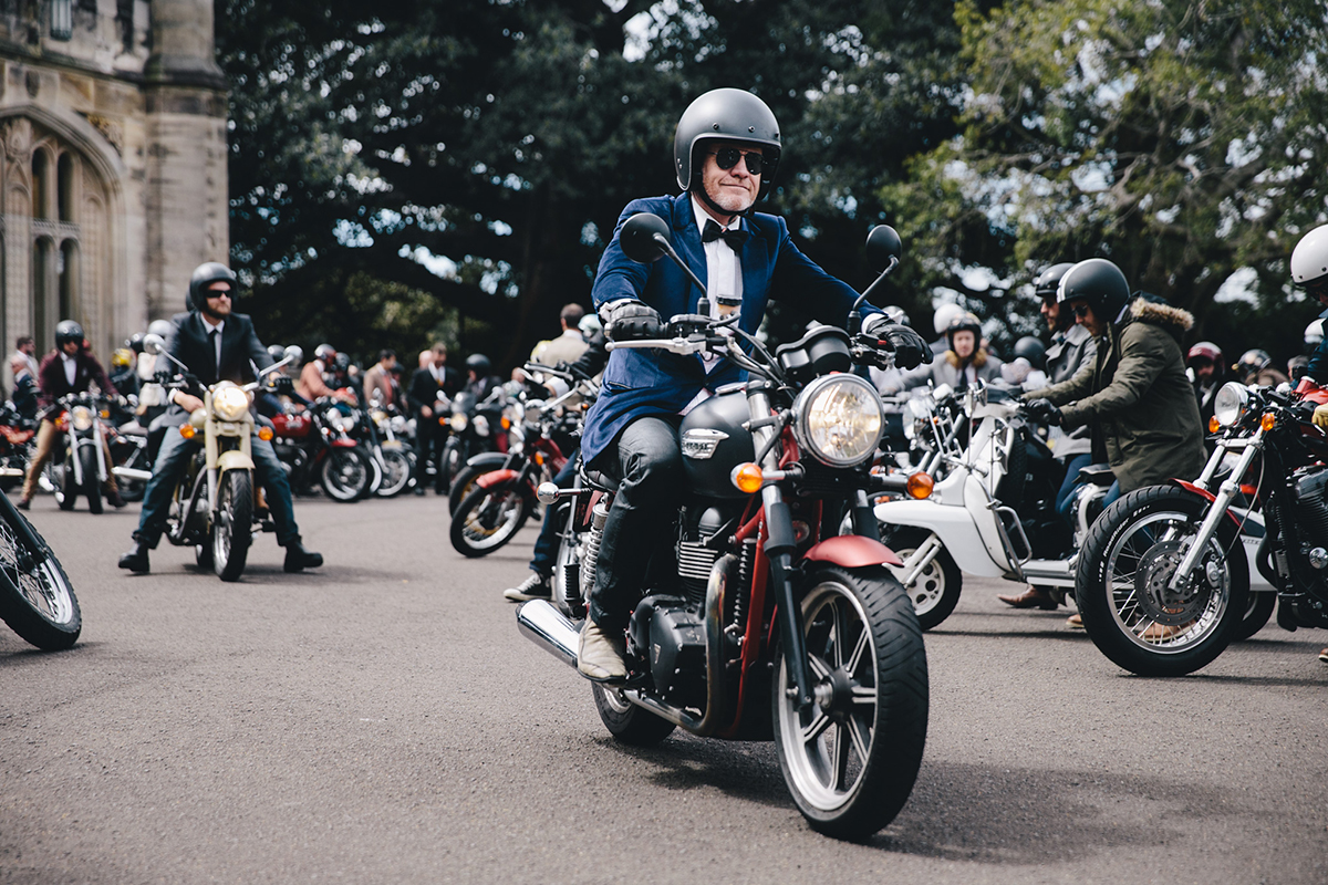 The Distinguished Gentleman's Ride – Sydney 2016