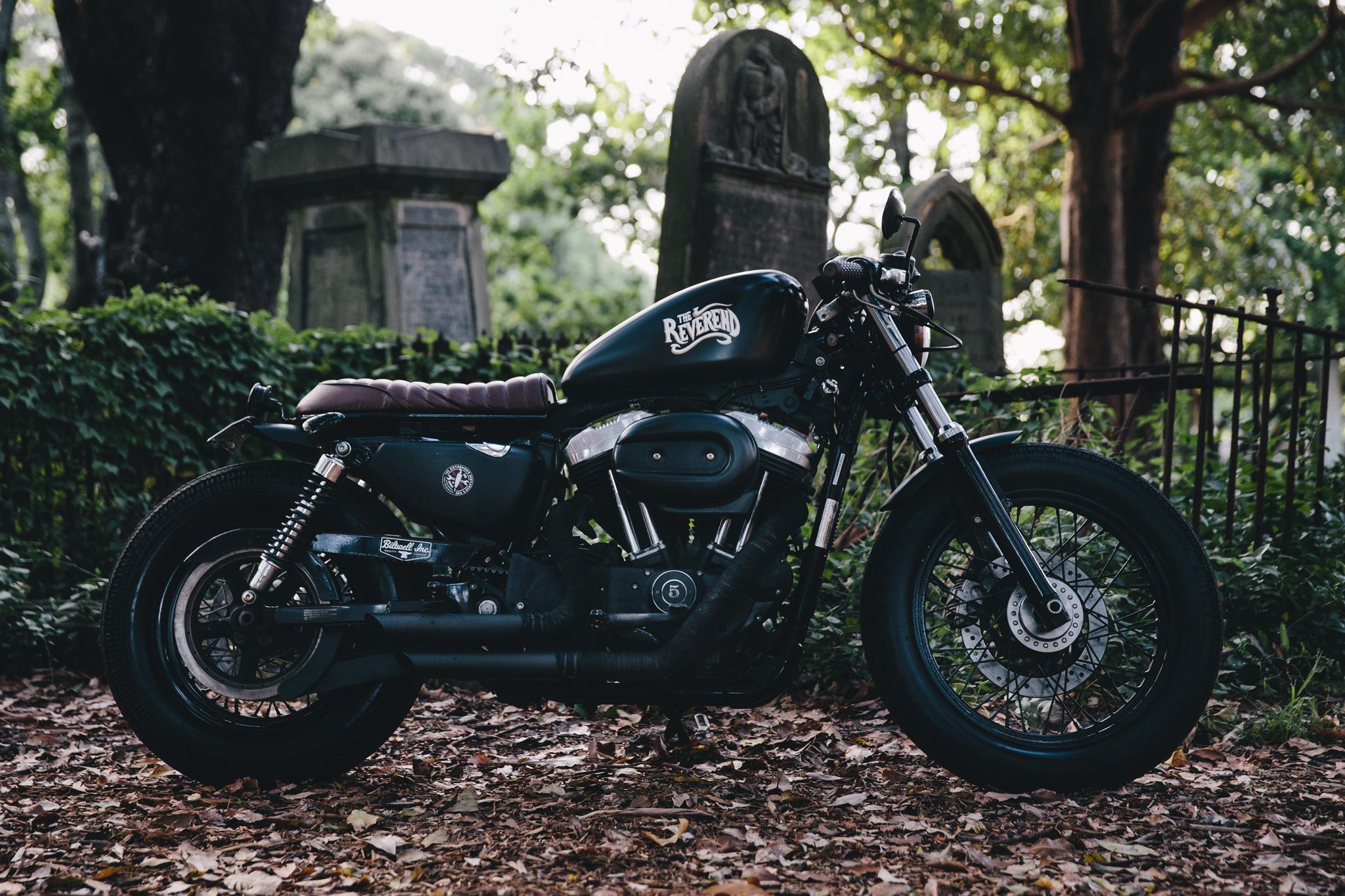 Harley Sportster Cafe Racer 6995 7503 6997