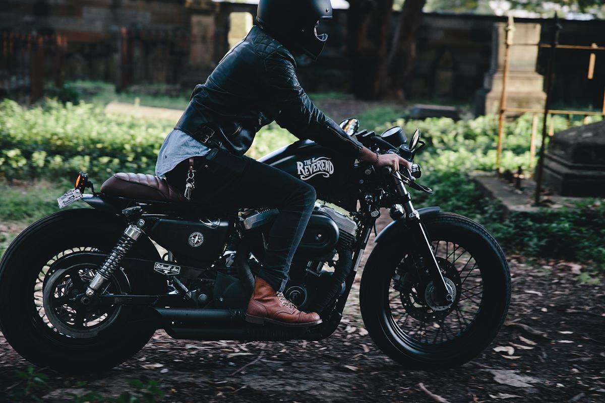 Harley Sportster Cafe Racer 7343 7293 7304 7141