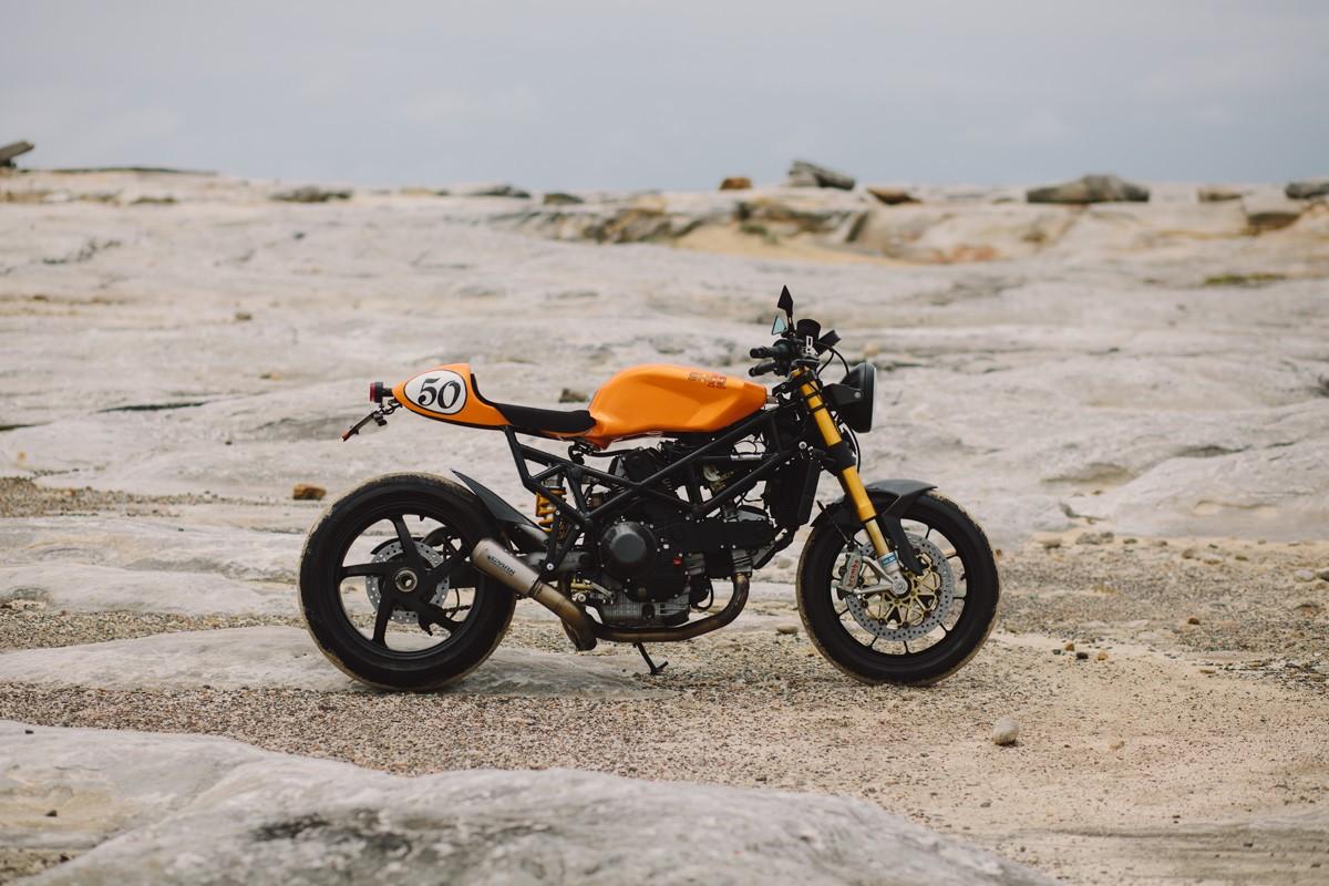 Honda Cb750 Cafe Racer >> Clockwork Orange - Paul's Ducati ST2 Cafe Racer | Throttle Roll
