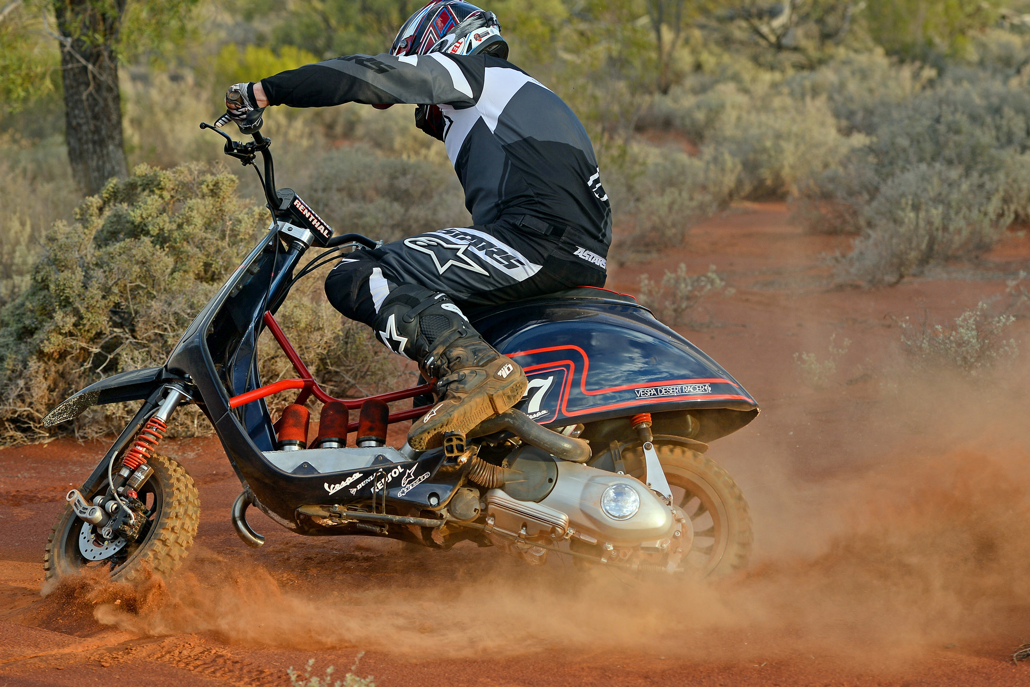 The Vespa Desert Racer