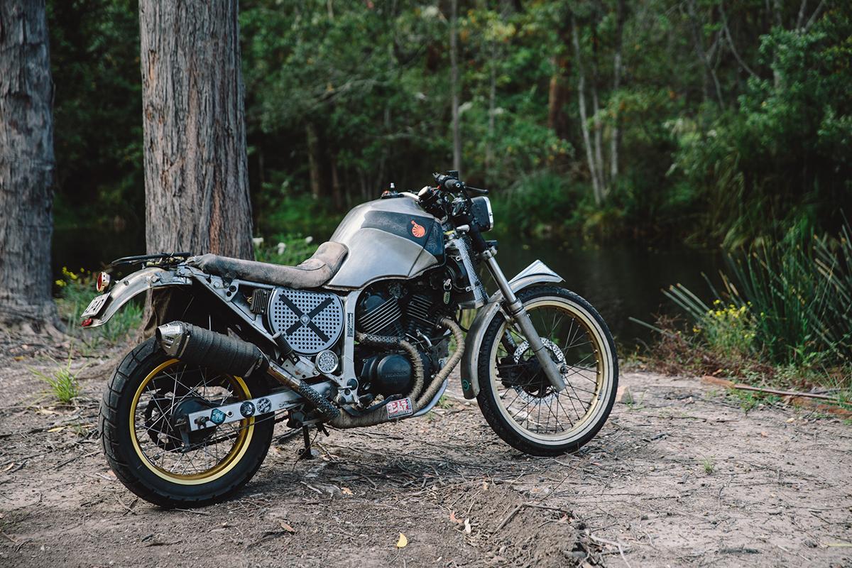 Bender 1987 Honda Xl600v Transalp Throttle Roll