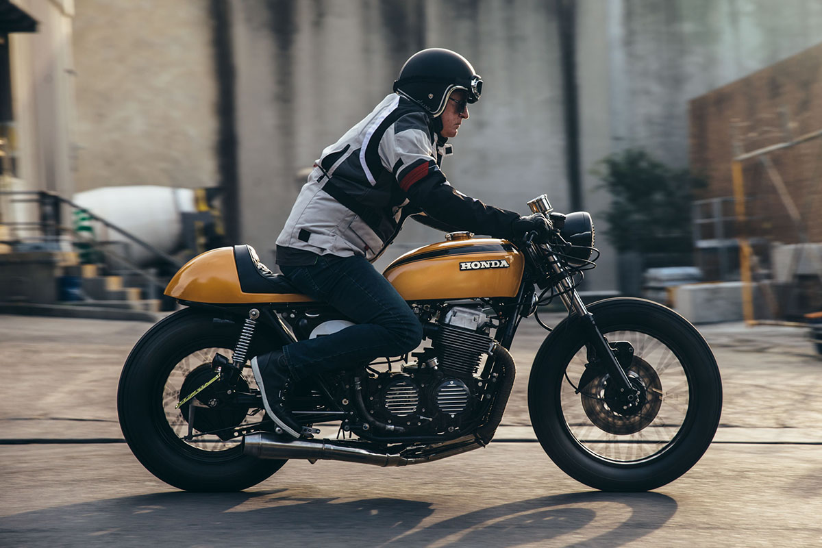 Julian's Honda CB750 Cafe Racer | Throttle Roll