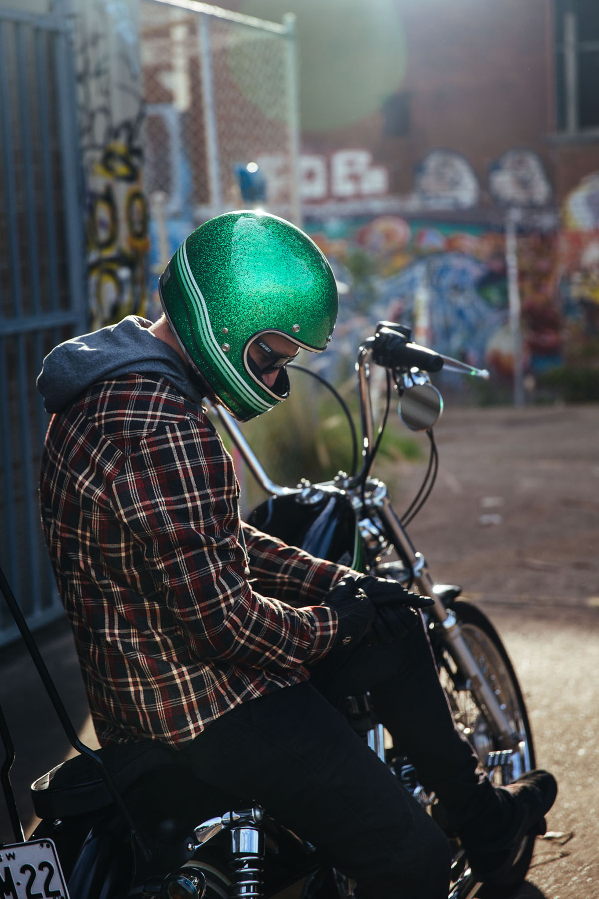 Flannel Motorcycle Jacket >> Sartso Kevlar Flanno & Jeans   Throttle Roll