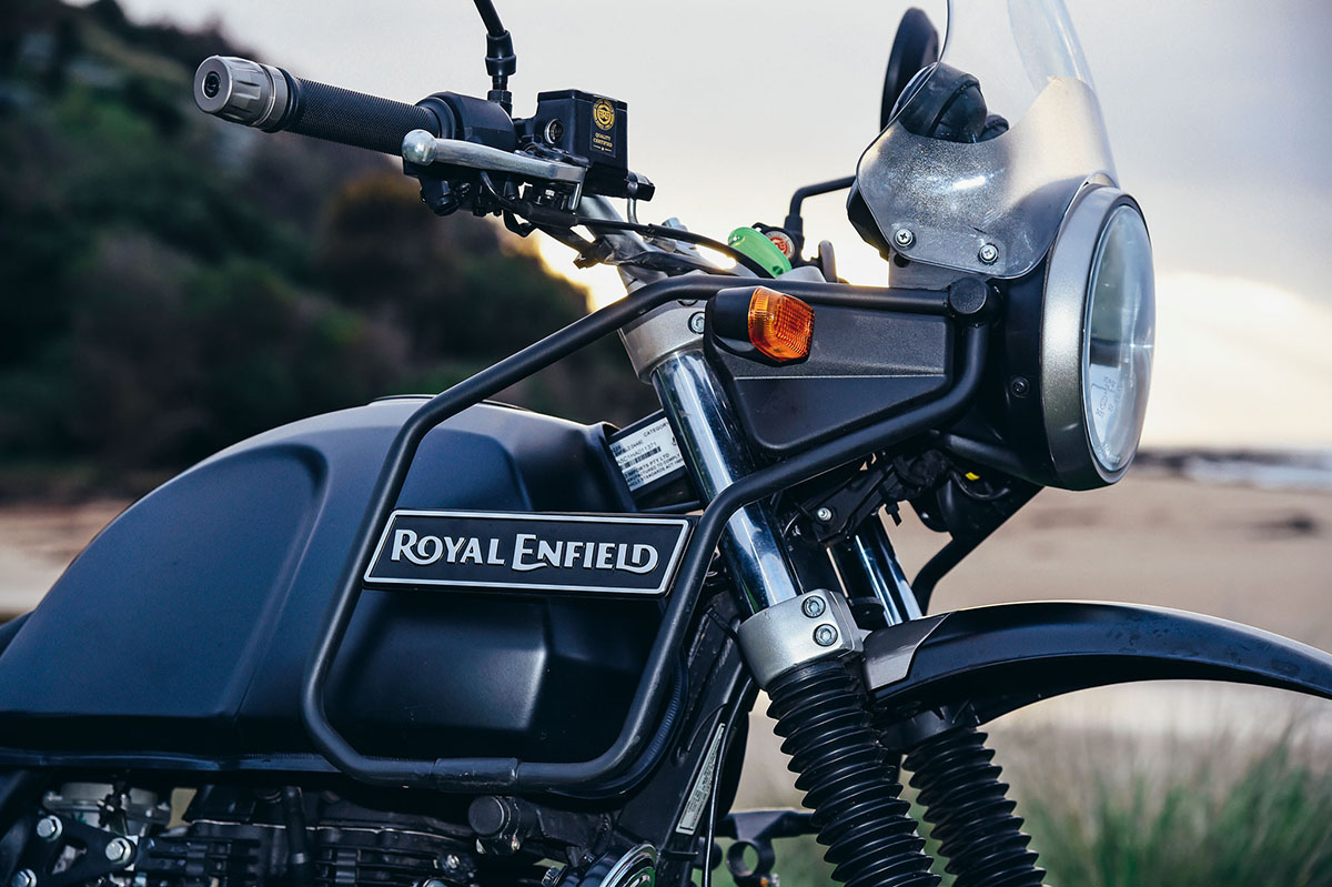 Triumph Cafe Racer >> Royal Enfield Himalayan | Throttle Roll