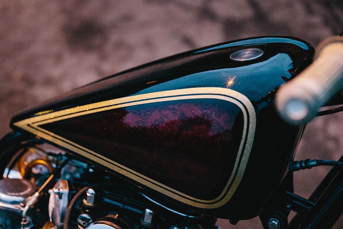 Troy's 1975 Yamaha XS650 Bobber | Throttle Roll